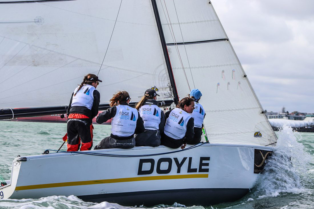 Doyle Sails sign significant three-year partnership with the Royal New Zealand Yacht Squadron