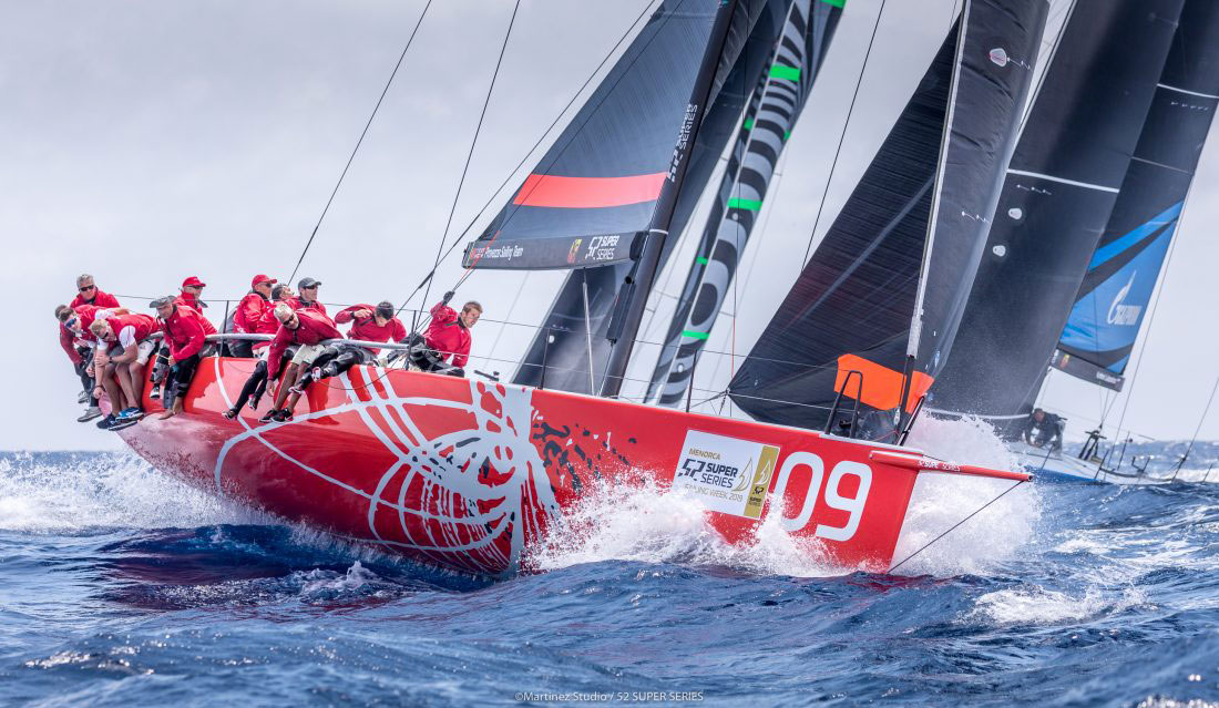 Grand Prix sailor, Daniel Fong, is at home in the Doyle Sails Design team.
